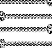 Climbing Rope t-shirt - East Peak Apparel Sticker