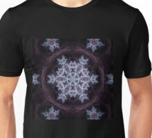 Snowflake Mandala - Abstract Fractal Artwork Unisex T-Shirt