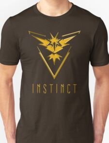 TEAM INSTINCT GOLD VERSION - POKEMON GO TSHIRT (BEST QUALITY ON SITE!) Unisex T-Shirt
