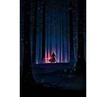 Kylo Ren Photographic Print