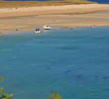 Shell Bay, Herm Sticker