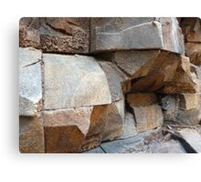 Rock Texture Canvas Print