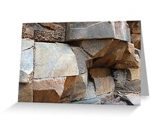 Rock Texture Greeting Card