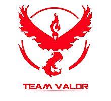 Pokemon Go - Team Valor Photographic Print