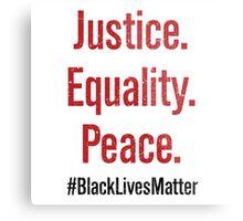Black Lives Matter #BLM Metal Print