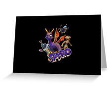 Spyro Greeting Card