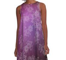 mandala pattern A-Line Dress