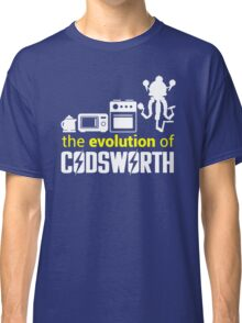 Fallout: Evolution of Codsworth Classic T-Shirt