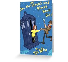 doctor who - amy pond  Greeting Card