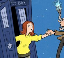 doctor who - amy pond  Sticker