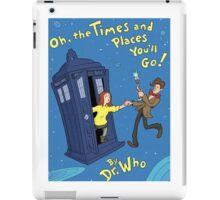 doctor who - amy pond  iPad Case/Skin