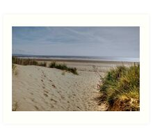 Greatstone Beach Art Print