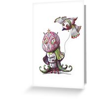 Pet paddock Greeting Card