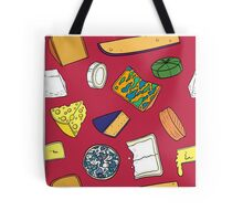 Cheese Obsession Tote Bag