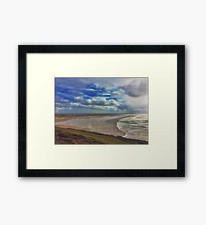 Saunton Sands Framed Print