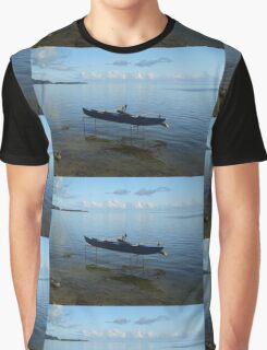 Boat on Stilts Graphic T-Shirt