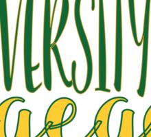 University of Oregon  Sticker