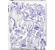 Extreme Animal Doodle iPad Case/Skin