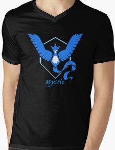 Team Blue Mens V-Neck T-Shirt