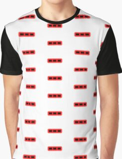 Morse Code Letter O Graphic T-Shirt