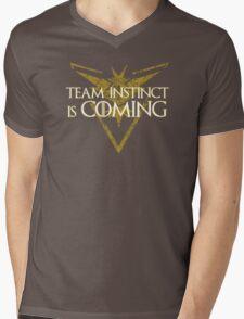 Pokemon Go - Team Instinct is Coming Mens V-Neck T-Shirt
