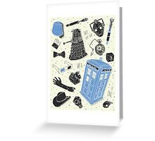 doctor who - mixed  Greeting Card