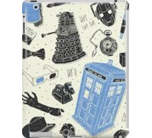 doctor who - mixed  iPad Case/Skin