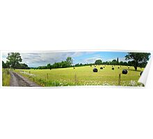 Panorama of Rural Sussex Poster