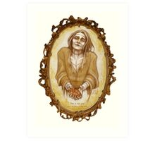 Frankenstein's Lovely Monster Art Print