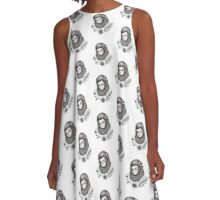Young Squatch A-Line Dress