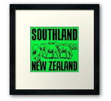 SOUTHLAND, NZ Framed Print