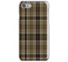 02296 Brown Daks Fashion Tartan  iPhone Case/Skin