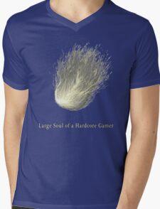 HARDCORE GAMER Mens V-Neck T-Shirt
