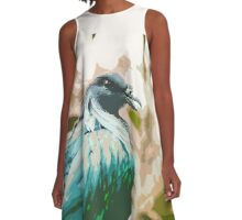 Colourful Bird A-Line Dress