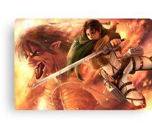 Attack On Titan 04 Canvas Print