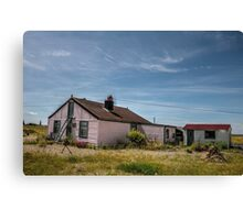 Cottage at Dungeness Canvas Print