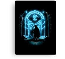 Lord of the Rings - Speak Friend and Enter Canvas Print