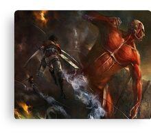Attack On Titan 02 Canvas Print