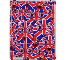over crowded british smileys iPad Case/Skin