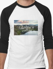 Adventure is Calling Men's Baseball ¾ T-Shirt