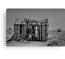 Derelict Fishing Hut at Dungeness Canvas Print
