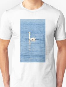 Swan on the wave of the sea T-Shirt