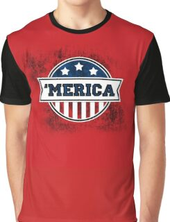 'MERICA T-Shirt. America. Jesus. Freedom. - The Campaign Graphic T-Shirt
