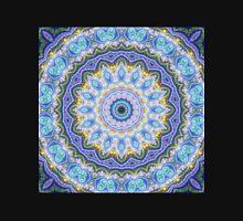Blue Mandala - Abstract Fractal Artwork Unisex T-Shirt
