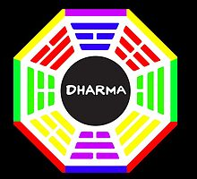 Dharma Rainbow by JoeDigitalMedia