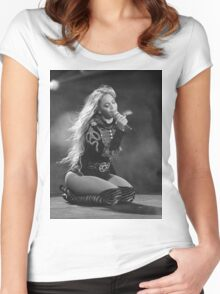 Beyoncé Knowles 1+1 LIVE Women's Fitted Scoop T-Shirt