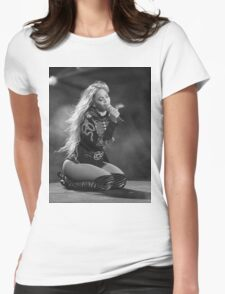Beyoncé Knowles 1+1 LIVE Womens Fitted T-Shirt
