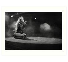 Beyoncé Knowles 1+1 LIVE Art Print