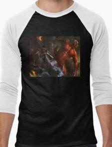 Attack On Titan 02 Men's Baseball ¾ T-Shirt