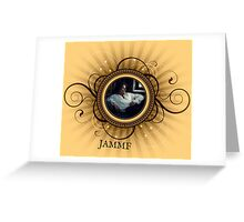 Jamie Fraser frame/Outlander Greeting Card